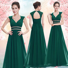 Ever Pretty UK Long Bridesmaid Dresses Evening Gowns Cocktail Party Dress 08697