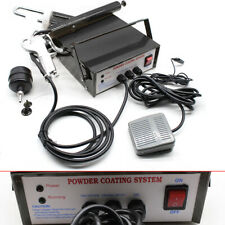 Powder Coating Kit Gun System Car Paint Sprayer Set Auto Machine Diy Pneumatic