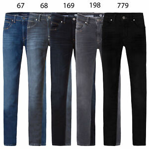 Gardeur Herren Move Lite Denim Jeans Hose Modern Fit blau BATU-4 470791 167