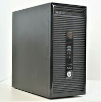 HP Office Home Gaming PC Computer i7-4790 3.6 GHz SSD HDD GTX 1650 Windows 10