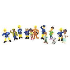 Fireman Sam Figures Toys - 12 Pcs Set Action 6cm Approx