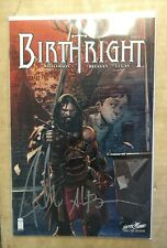 Birthright #1 NYCC Variant Signed By Williamson & Bressan Image Comics