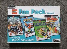 LEGO Fun Pack Vol 2 PC Dream Racers/Island Extreme/Loco/ Football Mania