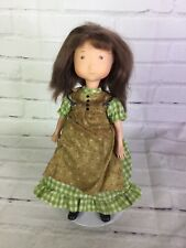 Vtg Amy Friend of Original Holly Hobbie Girl 10in Doll With Outfit Knickerbocker