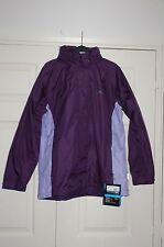 ❄️ New Sz Large Trespass Aubergine & Lilac Waterproof Windproof Coat Jacket
