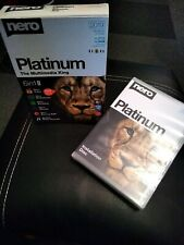 Genuine Sealed Nero Platinum CD/DVD/BLU-RAY 2019 6 in 1 Record Burn  Software