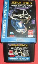 Megadrive 1 & 2 Star Trek Deep Space Nine Crossroads of Nine [PAL] Sega *JRF