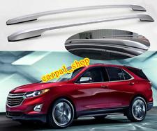 Fits Chevrolet Equinox 2018-2020 Aluminium Roof Rack Rails Bars Decorative Set
