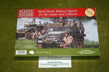 Plastic Soldier Company WW2 ALLIED M3 HALFTRACK 20mm or 1/72 scale wargames