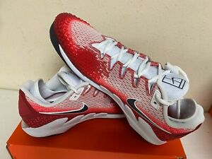 Nike Men's Air Zoom Vapor X Knit Tennis Shoe Style AR0496 600