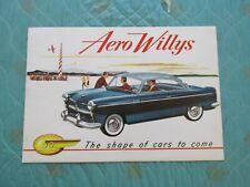 0815j  1953 Aero Willys deluxe sales brochure (best version)