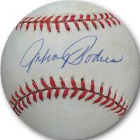 Johnny Podres Hand Signed Autographed Baseball LA Dodgers Brooklyn NL Ball