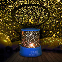 LED Starry Night Sky Projector Lamp Star Light Master Party Decor Xmas Gifts USA