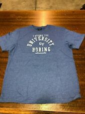 ABERCROBIE & FITCH -BRAND NEW BLUE SHORT-SLEEVE T-SHIRT  SIZE TEEN LARGE