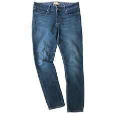 Paige Peg Skinny Women Medium Wash Skinny Denim Jeans Size 30 A023
