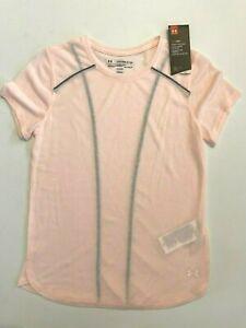Under Armour New Breeze Run Short Sleeve T-Shirt Women's Small 1361359 MSRP $60