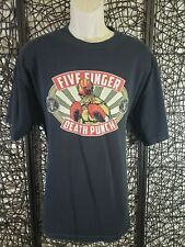 Five Finger Death Punch The Boxer Mens Tee T Shirt Black Size Xl