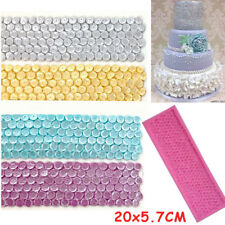 Sequins Border Silicone Cake Fondant Decorating Mould Sugarcraft Chocolate Mold