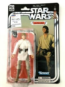 STAR WARS  -  LUKE SKYWALKER   ACTION FIGURE  40 YEARS   -  NEW & RARE