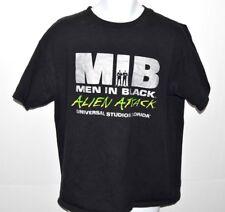 Mib Men in Black T-shirt Mens Size Large Alien Attack Universal Studios 2000 Fl