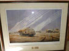 More details for david rowlands the artillery raids,gulf war 1991 the royal artillery print