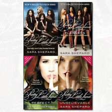 Pretty Little Liars 4 Books Sara Shepard Collection Set, Flawless,Perfect New PB