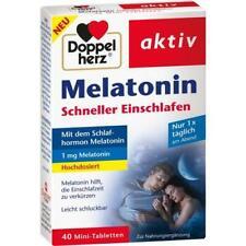 DOPPELHERZ Melatonin Tabletten 40 St PZN 16874250