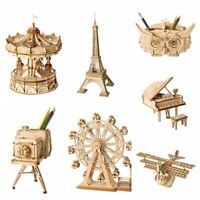Giocattolo puzzle 3D Kit di costruzione di modelli in legno Regalo per bambini