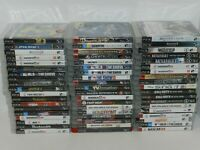 Sony Playstation 3 Games Complete Fun You Pick & Choose Video Game Good Titles