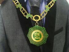 Libya Arab Jamahiriya Order Good African Citizenship Collar Badge Medal Qaddafi