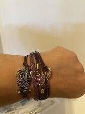 Fashion Leather Charm Bracelets