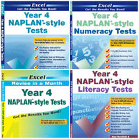YEAR 4 NAPLAN STYLE TEST BUNDLE PACK ( 4 BOOKS)