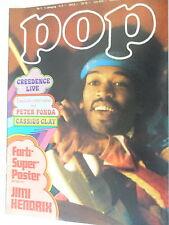 1 x Magazin - Pop Nr.1 - 7. Jahrgang - 1972 seltene Musikzeitschrift -Z.sehr gut