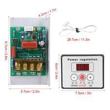 6000W SCR Digital Voltage Regulator Speed Control Dimmer Thermostat AC 220V Hot