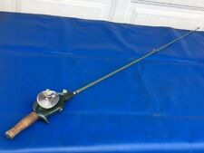 Vintage 1950s Shakespeare Ideal 1990 FJ Baitcast Reel & 1171L Fishing Rod Combo
