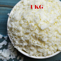 Wax Soy 1kg Soya Flakes 100% Pure Clean Burning Natural Candle Making UK