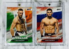 "2020 Topps/UFC ~ CONOR MCGREGOR & KHABIB NURMAGOMEDOV ""BLOODLINES"" INSERT LOT!!!"