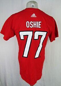 Washington Capitals NHL Adidas Men's Oshie #77 T-Shirt