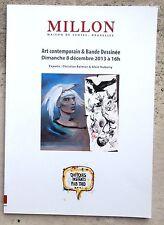 Catalogue Art Contemporain & Bandes dessinése Millon  Vente aux enchères