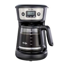 Mr. Coffee 12-Cup Programmable Coffeemaker, Strong Brew Selector