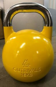 Kettlebell Competition Steel 16kg Gym Home Fitness Training Heavy Weights