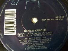 "INNER CIRCLE - SWEAT A LA LA LA LA LONG -90S CHART R&B DANCE 12"" VINYL RECORD DJ"