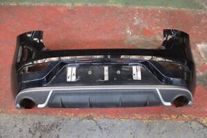 VOLVO V40 12-16 R-DESIGN OEM REAR BUMPER SKIN WITH DIFFUSER IN BLACK