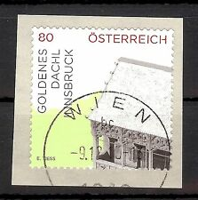 """3188 Österreich 2015   """" Goldenes Dachel  2015 """"  80 cent  sk  o"""