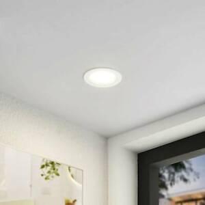LED-Einbaustrahler Milaine Arcchio Rund Weiß CCT IP44 100° Durchgangsverdrahtung