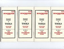 Lot Of 4 Winchester Pocket Catalog Of Tools Collector Guide Price Reproduction