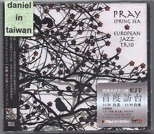 European Jazz Trio: Pray / Spring Sea (2013) CD OBI TAIWAN