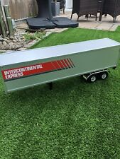 Tamiya 1/14th Scale Semi Box Trailer Rc Tractor Truck Trailer VGC