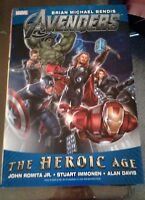 THE AVENGERS DELUXE HARDCOVER THE HEROIC AGE 1ST PRINT NEAR MINT THOR HULK