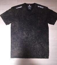 RockSmith V neck Dress TeeT Shirt putty Black Travis Barker New L Men's Rock